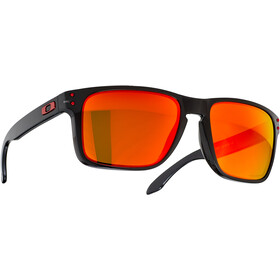 Oakley Holbrook XL Solbriller, sort/orange